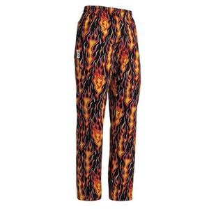 EGOCHEF Kuchárske nohavice Plamene, 100% bavlna XXXL vyobraziť