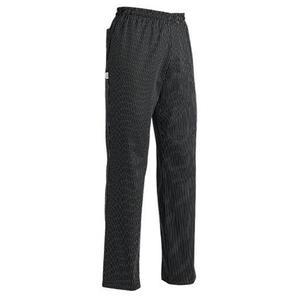 EGOCHEF Kuchárske nohavice SIR - jemné biele pásy, 100% bavlna 4XL vyobraziť