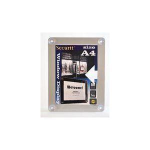 SECURIT Informačný rámik na sklo A4, 4 farby vyobraziť