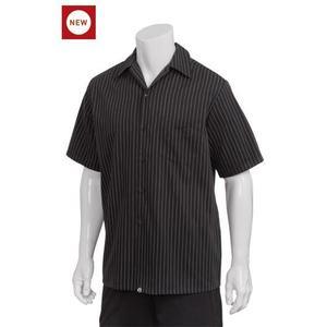 3b88ae1342f4 SOL´S Pánska čašnícka košeľa bodkovaná - 4 farby Modrá - biele bodky ...