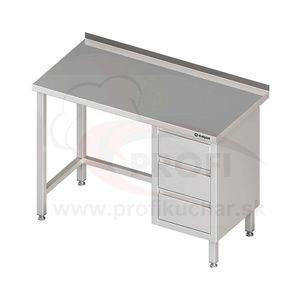 Pracovný stôl krytovaný - posuvné dvere 1700x700x850mm vyobraziť