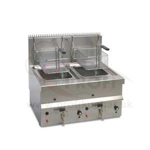 Stolová plynová fritéza Elframo® - 2 x 10 l vyobraziť