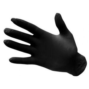 PORTWEST Nitrilové jednorázové rukavice nepúdrované - čierne XL vyobraziť