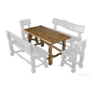 Drewmax Záhradná zostava - masív MO101 Prevedenie: Stôl vyobraziť
