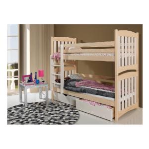 ArtBed Detská poschodová posteľ Serafin Prevedenie: Borovica prírodná vyobraziť
