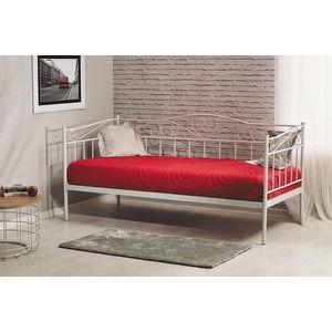 Signal Jednolôžková posteľ BIRMA Farba: Biela vyobraziť
