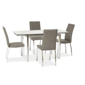 Signal Jedálenský stôl GD-019 Farba: Biely jedálenský stôl vyobraziť