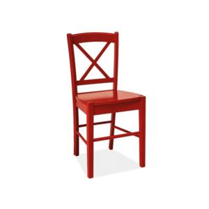 Signal Jedálenská stolička CD-56 Farba: Červená vyobraziť