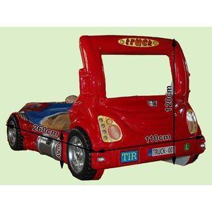 Detská posteľ Truck Farba: Červená vyobraziť