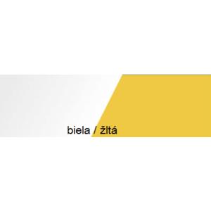 Meblar Skriňa MOBI MO 4 Ľ/P Farba: Žltá vyobraziť