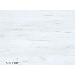 WIP Rohová šatníková skriňa NEMO Farba: craft biely vyobraziť