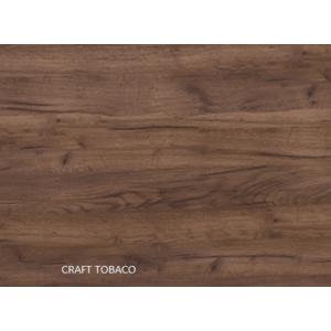 WIP Rohová šatníková skriňa NEMO Farba: craft tobaco vyobraziť