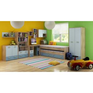 WIP Detská izba KITTY 1 Farba: Dub sonoma svetlá / blankytná / modrá vyobraziť
