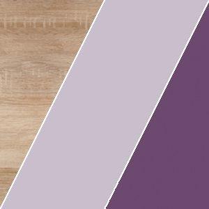 WIP Komoda KITTY 03 Farba: Dub sonoma svetlá / blankytná / modrá vyobraziť