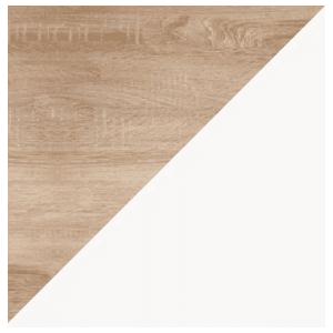 WIP Nočný stolík KITTY 12 Farba: Dub sonoma svetlá / biela vyobraziť