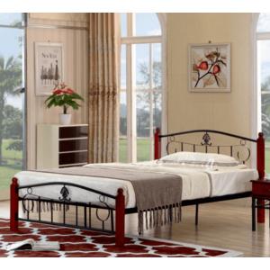 Tempo Kondela Kovová manželská posteľ MAGENTA / 140x200 vyobraziť