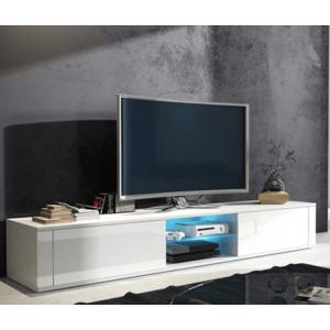 WIP TV stolík Hit biely / biely lesk vyobraziť