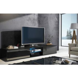 WIP TV stolík Hit čierna / čierny lesk vyobraziť