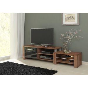 WIP TV stolik Orion Farba: Slivka / čierny lesk vyobraziť