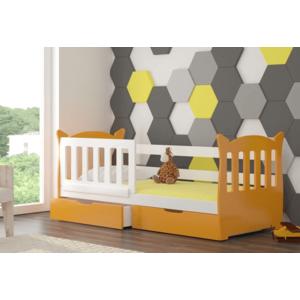 ArtAdr Detská posteľ Lena Farba: biela / modrá vyobraziť