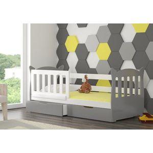 ArtAdr Detská posteľ Lena Farba: biela / sivá vyobraziť