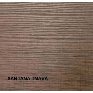 JarStol Regál Vegas V-34 Vegas: santana tmavá vyobraziť