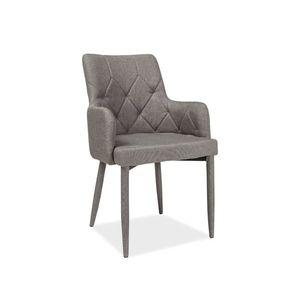 Signal Jedálenská stolička RICARDO Farba: Sivá vyobraziť