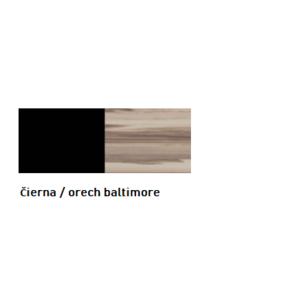 Čierna / orech baltimore vyobraziť