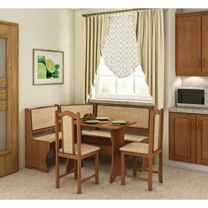 stôl a stoličky do kuchyne vyobraziť