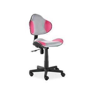 Signal Detská stolička Q-G2 ružovo-sivá vyobraziť