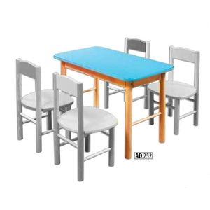 Drewmax Detský stolík AD252 Farba: Biela vyobraziť
