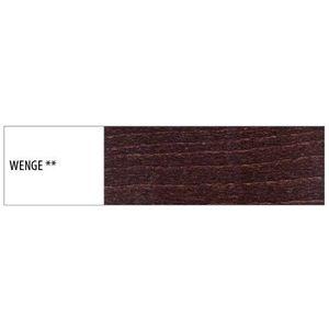 Drewmax Jedálenská stolička - masív KT179   buk / koža Morenie: Wenge vyobraziť