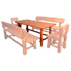 Záhradné drevené zostavy vyobraziť