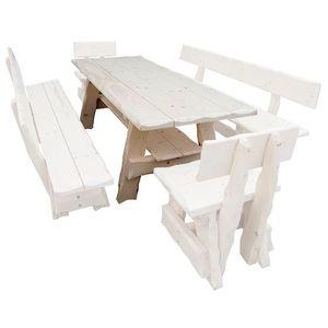 Drewmax Záhradná zostava MO266 Prevedenie: Stôl vyobraziť