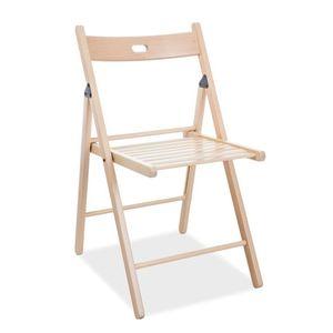 Signal Skladacia stolička Smart II Farba: Prírodné drevo vyobraziť