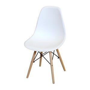 Jedálenská stolička UNO biela vyobraziť