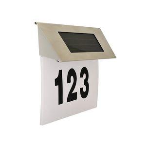 Polux LED Solárne domové číslo 1, 2V IP44 vyobraziť