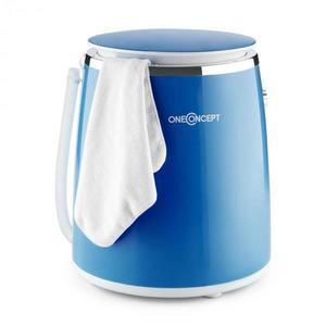 OneConcept Ecowash-Pico, modrá, mini práčka, funkcia žmýkania, 3, 5 kg, 380 W vyobraziť