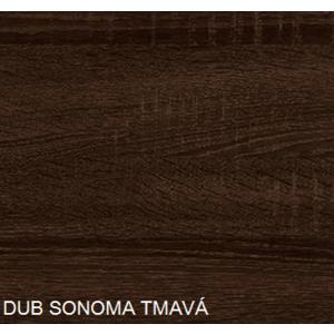 WIP Konferenčný stolík VENUS 3/D Farba: DUb sonoma tmavá vyobraziť