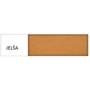 Drewmax Jednolôžková posteľ - masív LK117 / 120 cm borovica Farba: Jelša vyobraziť