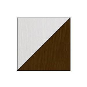 Dolmar Detská posteľ Alan 01/03 Farba: biela/hnedá, Prevedenie: Detská posteľ Alan 01/03 s dolným lôžkom vyobraziť