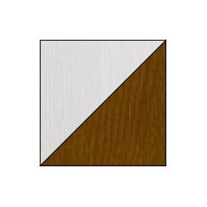 Dolmar Detská posteľ Alan 01/03 Farba: Biela/orech, Prevedenie: Detská posteľ Alan 01/03 s dolným lôžkom vyobraziť