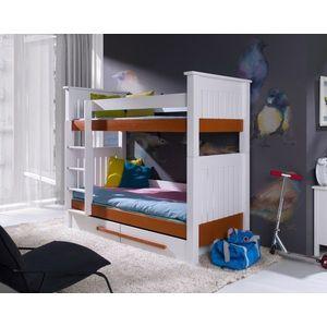 ArtBed Detská poschodová posteľ Casimir Prevedenie: Borovica prírodná vyobraziť