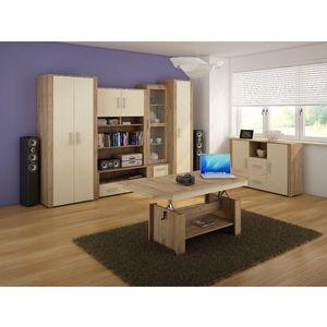 WIP Obývacia stena NOTTI 2 Farba: craft zlatý / krémová / craft zlatý vyobraziť