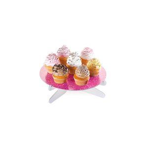 Tescoma stojan na tortu DELÍCIA, ružové lístky vyobraziť
