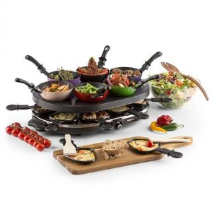 OneConcept Woklette, stolný gril, rakletovací gril, wok, 1200 W, 6 osôb, nepriľnavý vyobraziť