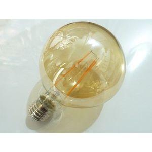 T-LED LED žiarovka Filament 4W E27 guľatá 032562 vyobraziť