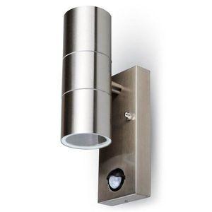 LED Solution Fasádné svietidlo 2x GU10 s pohybovým čidlom 7503 vyobraziť