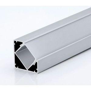 LED Solution Rohový profil pre LED pásiky R2 varianty: Profil bez difuzoru (krytu) 1m vyobraziť