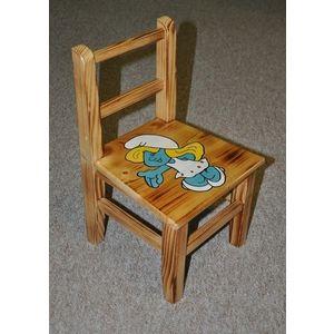 Drewmax Detská stolička AD230 Prevedenie: Detská stolička šmolkovia vyobraziť